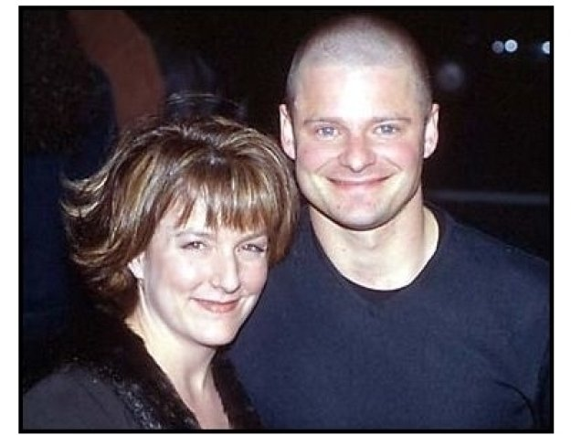 Steve Zahn and wife at the Saving Silverman premiere