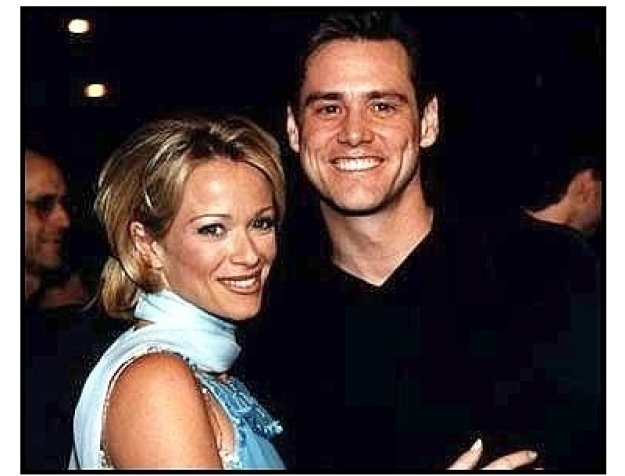 Liar Liar Premiere: Jim Carrey and Lauren Holly at the Liar Liar premiere