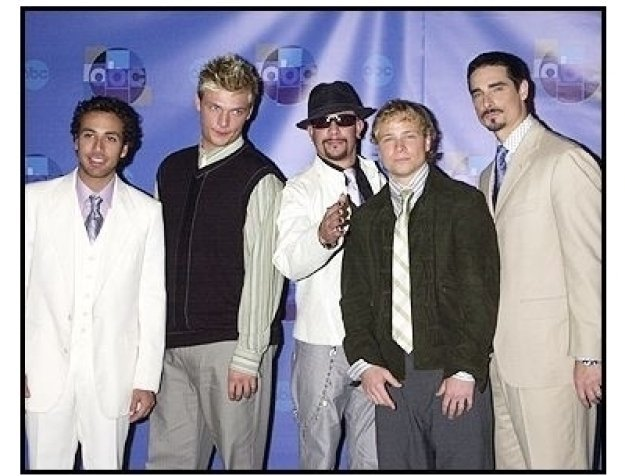 """The Backstreet Boys at the ABC Television Network Special,  """"Motown 45"""""""