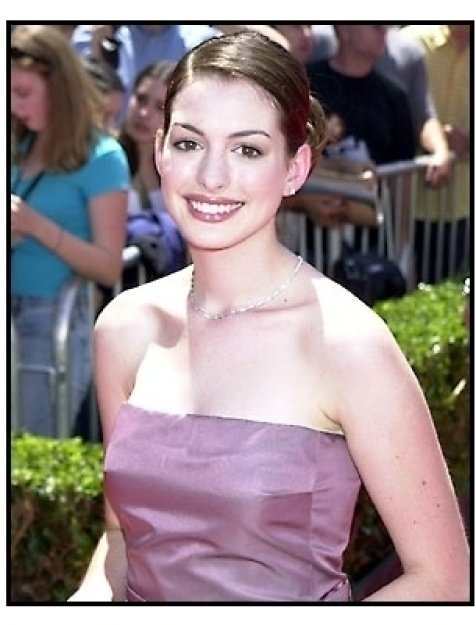 Anne Hathaway at The Princess Diaries premiere