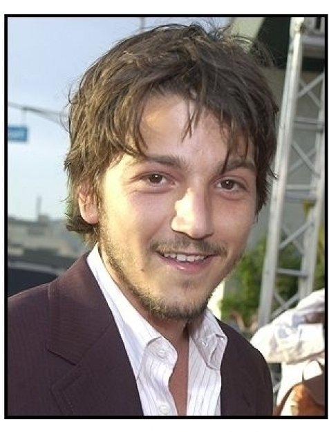 "Diego Luna at the ""Open Range"" premiere"