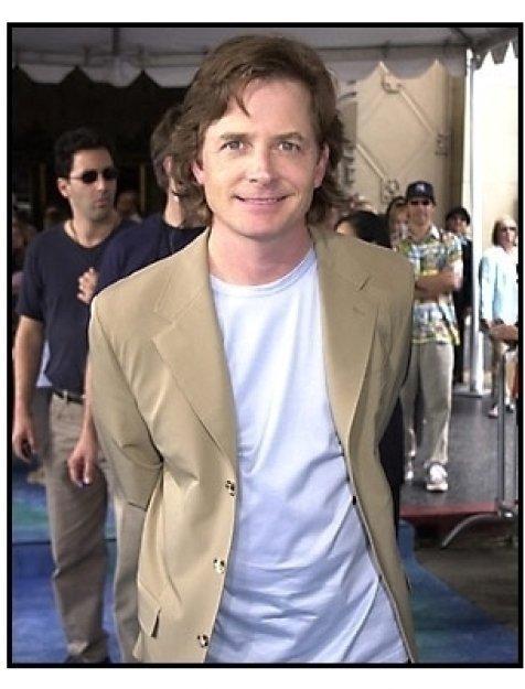 Michael J Fox at the Atlantis premiere