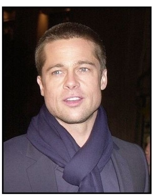 "Brad Pitt at the ""Along Came Polly"" Premiere"