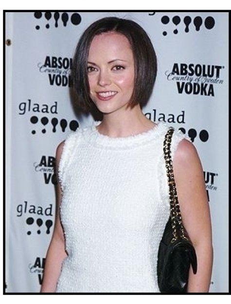 Christina Ricci at the 15th annual GLAAD Media Awards
