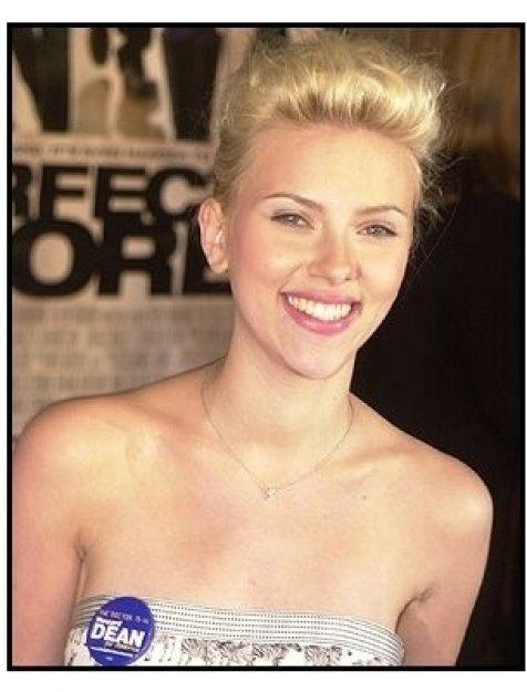 """Scarlett Johansson at """"The Perfect Score"""" Premiere"""