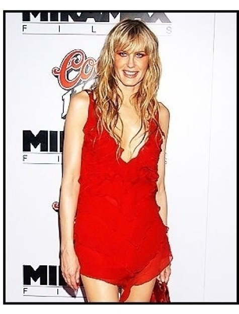 "Daryl Hannah at the ""Kill Bill Vol. 1"" premiere"