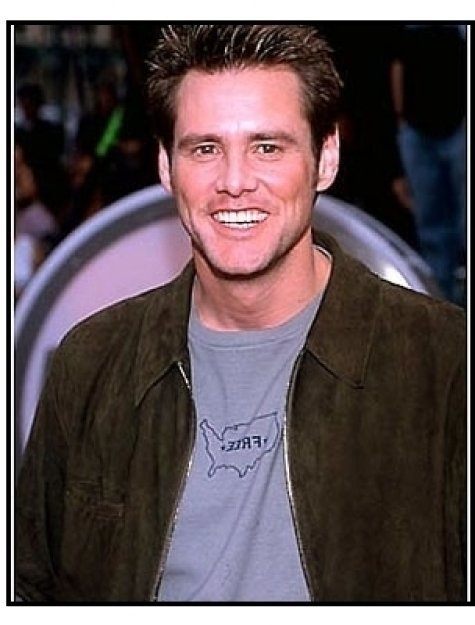 "Jim Carrey at the ""Me, Myself & Irene"" Premiere"