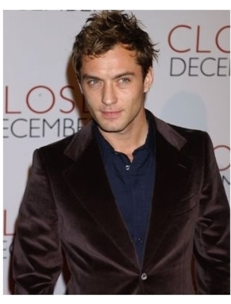 Jude Law at the Closer premiere