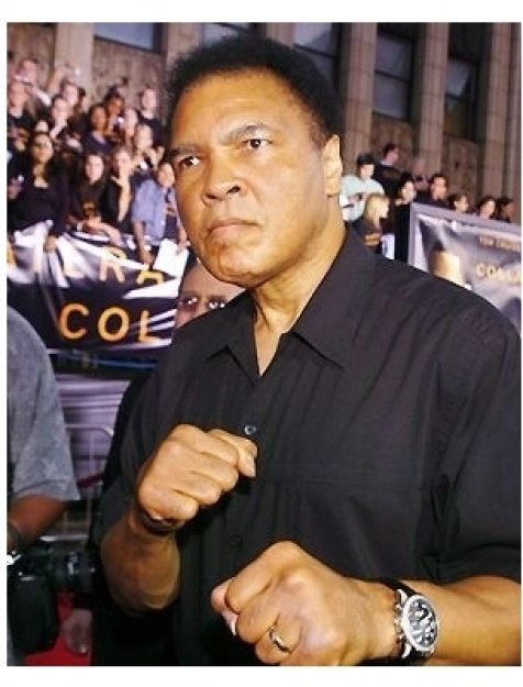"Muhammad Ali at the ""Collateral"" premiere"