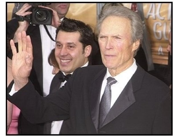 10th Annual SAG Awards -Clint Eastwood- Red Carpet