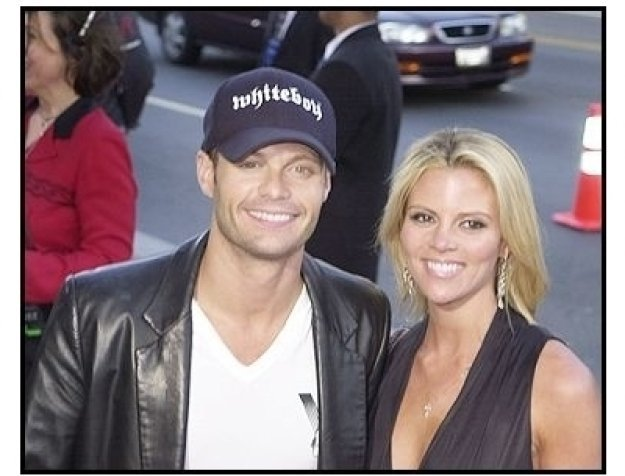 Ryan Seacrest and date at <I>The Terminal</I> premiere