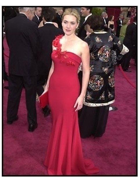 Academy Awards 2002 Fashion: Kate Winslet