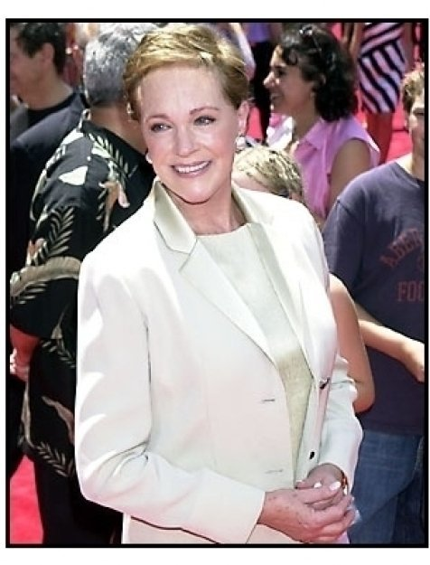 Julie Andrews at The Princess Diaries premiere