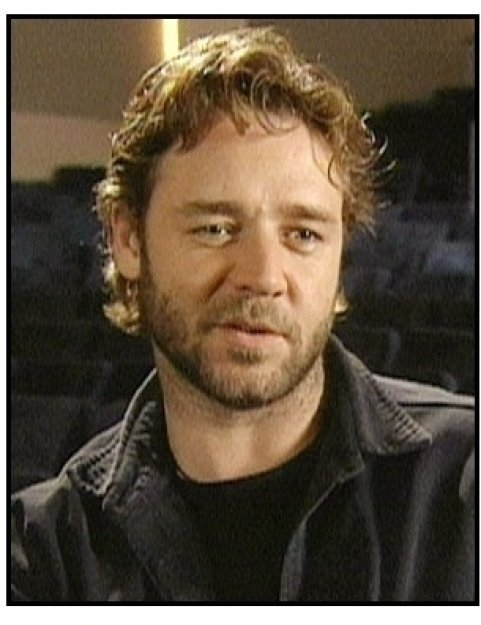 Proof of Life Interview video still: Russell Crowe