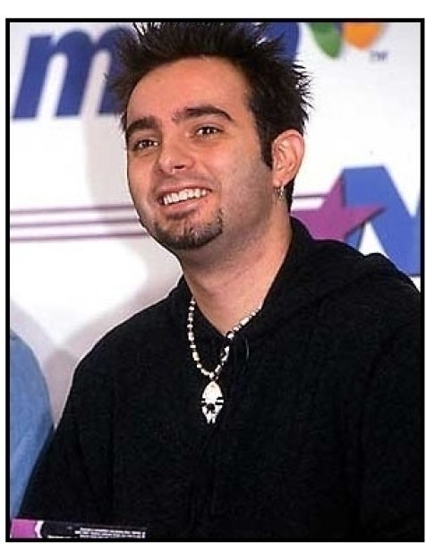 Chris Kirkpatrick at the 'N Sync-MSN Press Conference