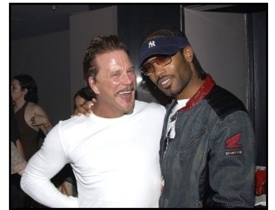 Ivar launch: Mickey Rourke and friend