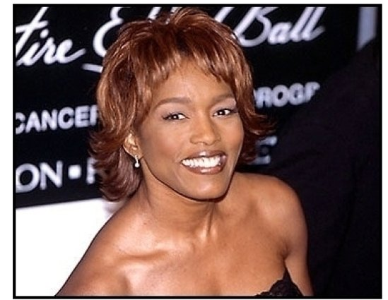 Angela Bassett at the 2000 Fire and Ice Ball
