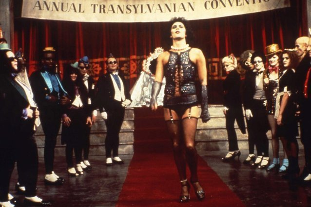 THE ROCKY HORROR PICTURE SHOW, Tim Curry